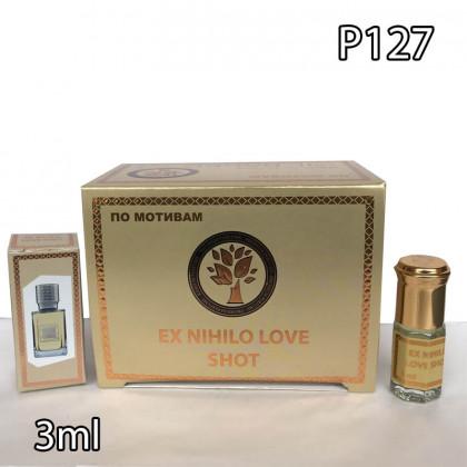 Наша продукция для разливных духов P127-3ml по мотивам Ex Nihilo Love Shot. В пачке 12 штук