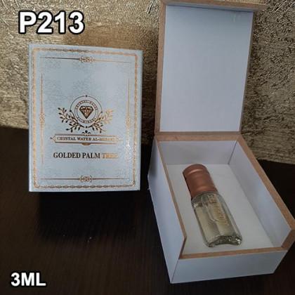 """Наша продукция для разливных духов P213 - Аромат """"Golden Palm Tree"""" 3ml"""