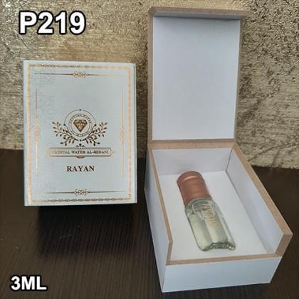 """Наша продукция для разливных духов P219 - Аромат """"Rayan"""" 3ml"""