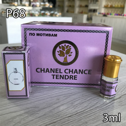 Наша продукция для разливных духов P68-3ml по мотивам Chanel Chance Tendre