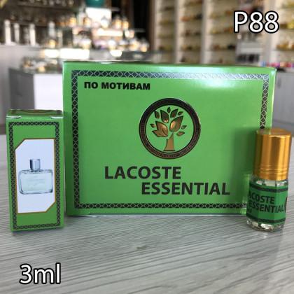 Наша продукция для разливных духов P88-3ml по мотивам Lacoste Essensial
